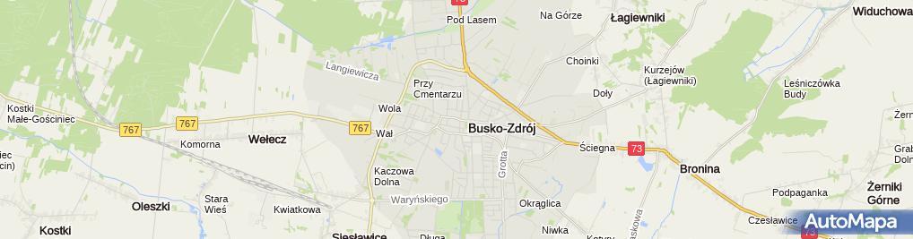 Zdjęcie satelitarne BGŻ BNP Paribas - Oddział