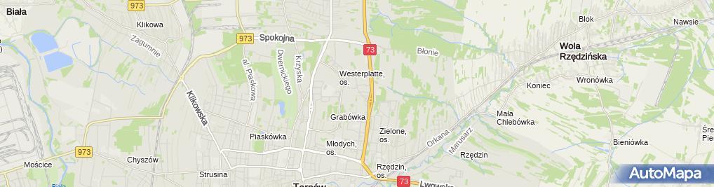 Zdjęcie satelitarne Miejska Biblioteka Publiczna, Filia nr 17