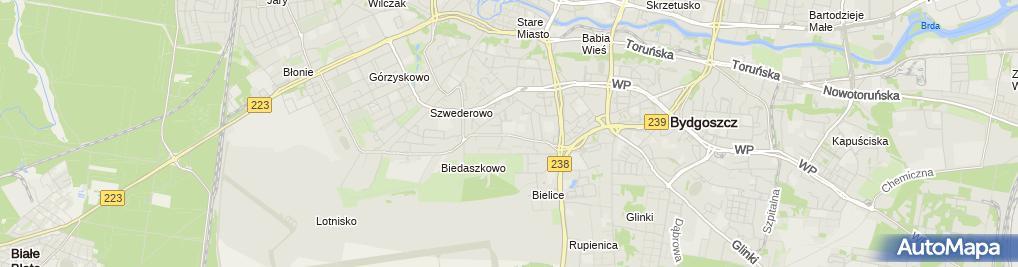 Zdjęcie satelitarne Euro-CB