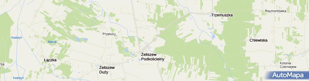 Zdjęcie satelitarne Parafialny