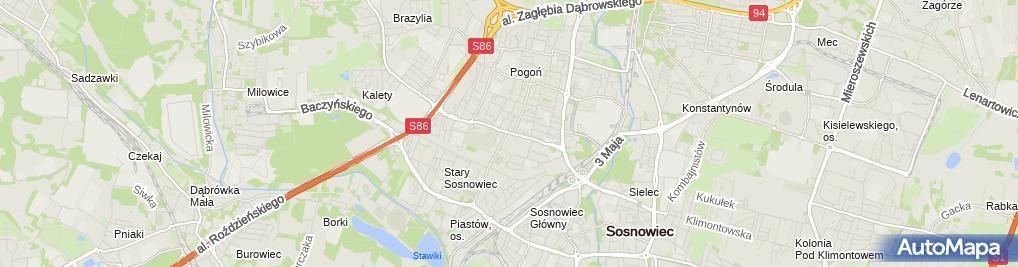 Zdjęcie satelitarne Elektronika Polska