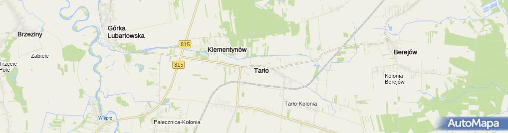 Zdjęcie satelitarne Tarło (województwo lubelskie)