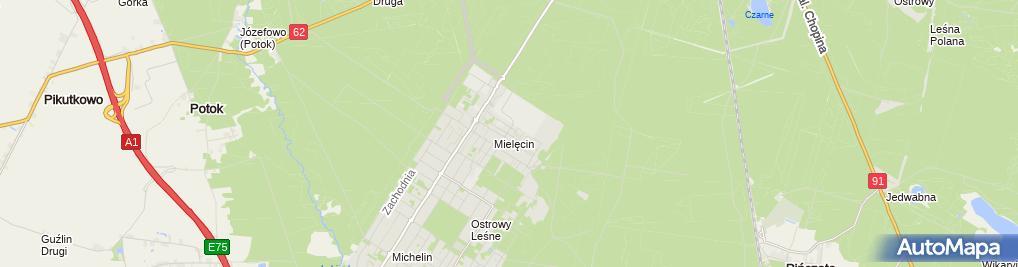 Zdjęcie satelitarne KAZEX