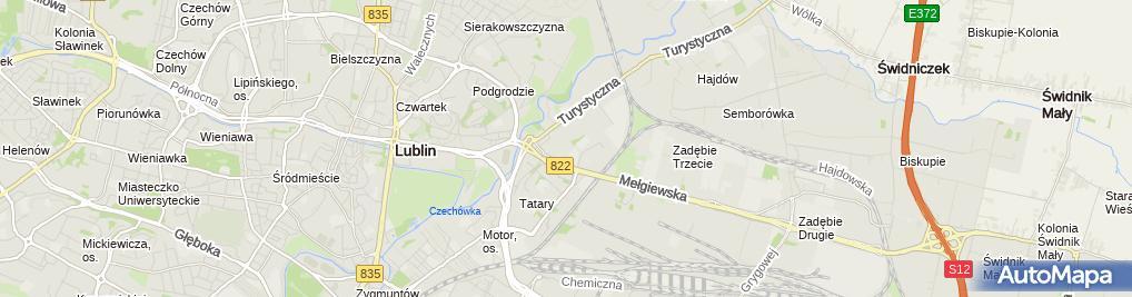 Zdjęcie satelitarne Jula