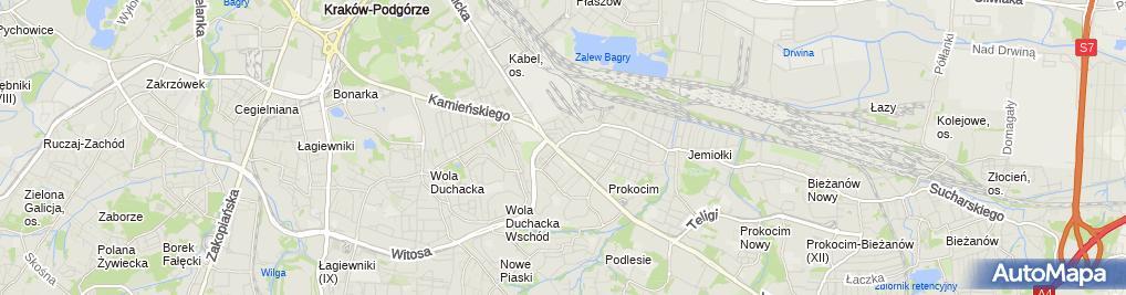 Zdjęcie satelitarne komtek