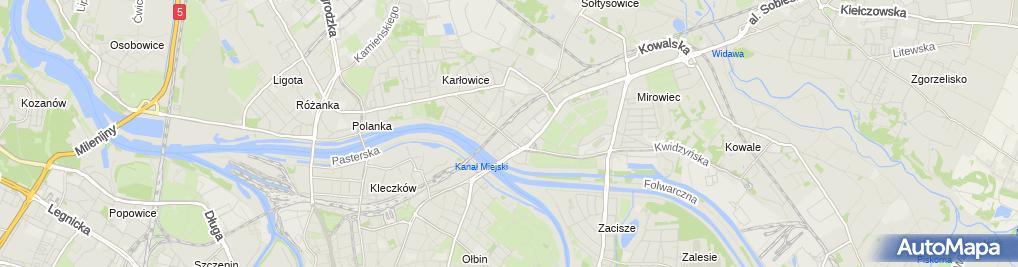 Zdjęcie satelitarne Lidl