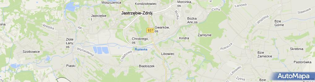 Zdjęcie satelitarne TANK-GAZ