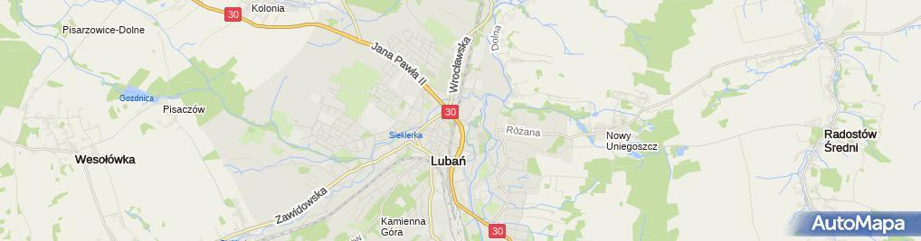 Zdjęcie satelitarne Matex