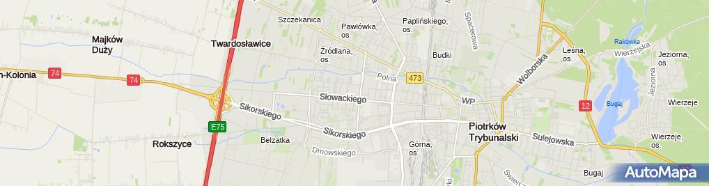 Zdjęcie satelitarne Media Markt
