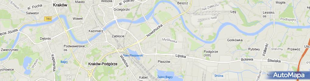 Zdjęcie satelitarne Kormoran