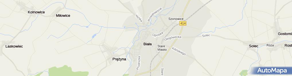 Zdjęcie satelitarne Odzieżowy