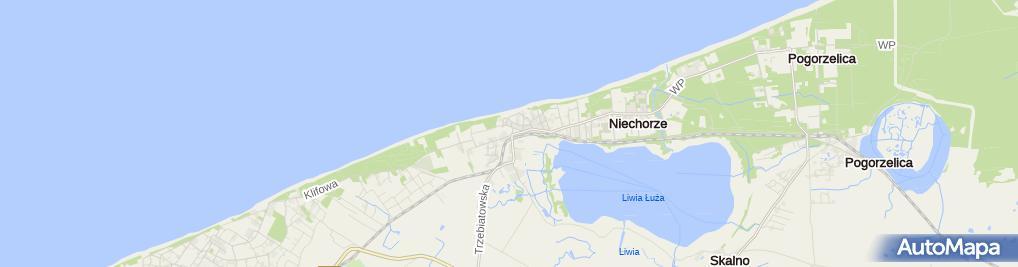 Zdjęcie satelitarne Bałtyk Park