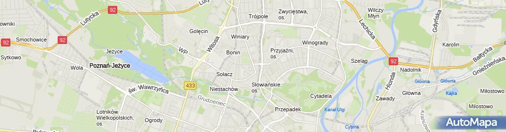 Zdjęcie satelitarne Dobre Miejsce 65, Pizza&Lunch&Cafe