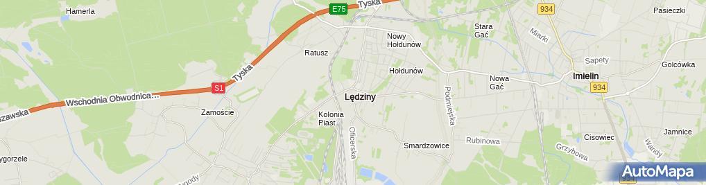 Zdjęcie satelitarne Gradka