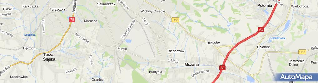 Zdjęcie satelitarne Ranczo Pub