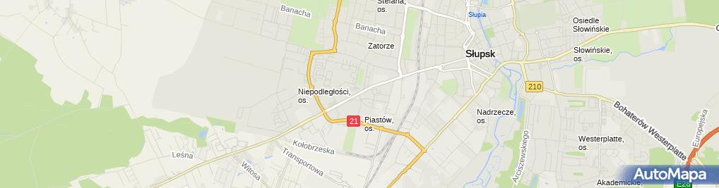 Zdjęcie satelitarne Tutto