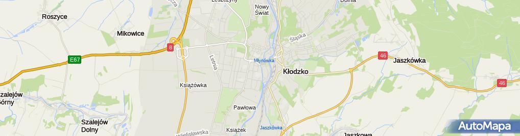 Zdjęcie satelitarne ZIBI