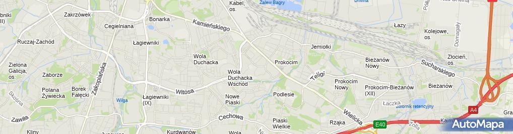 Zdjęcie satelitarne Smykoland