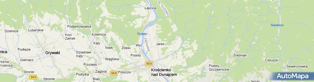 Zdjęcie satelitarne Pokój gościnny
