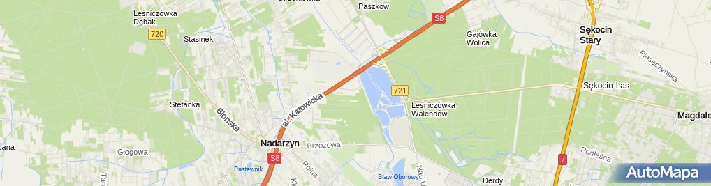 Zdjęcie satelitarne Golf Nadarzyn