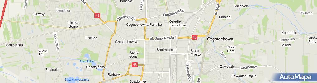 Zdjęcie satelitarne Prokuratura Okręgowa