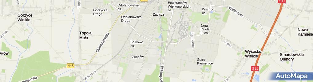 Zdjęcie satelitarne Prywatna Klinika Ort-Medica