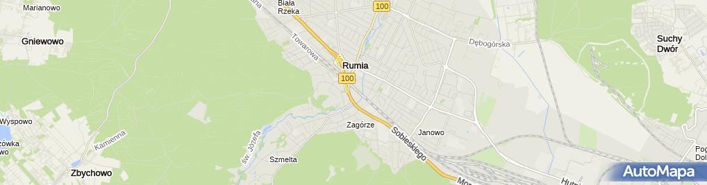 Zdjęcie satelitarne Bałtykgaz sp. z o.o.