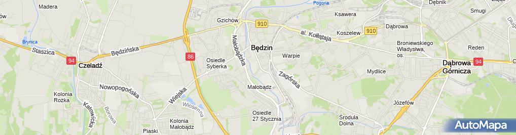Zdjęcie satelitarne INTER-MED NZOZ