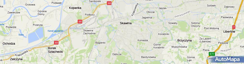 Zdjęcie satelitarne SKAW-MED