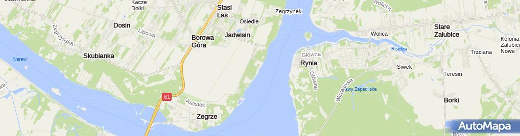 Zdjęcie satelitarne ŚKŻ Dolomit