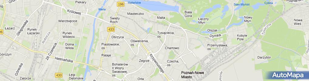 Zdjęcie satelitarne Chrystusa Najwyższego Kapłana