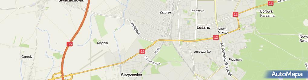 Zdjęcie satelitarne Parafia rzymskokatolicka pw. św. Józefa