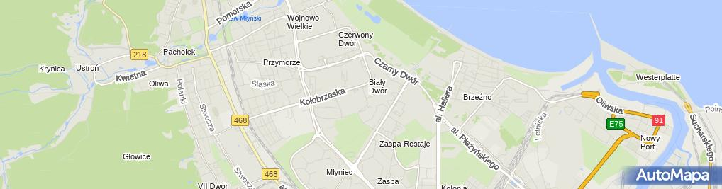 Zdjęcie satelitarne św. Brata Alberta