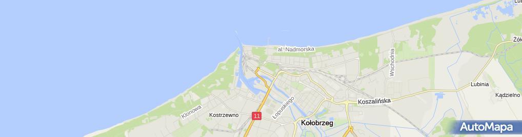 Zdjęcie satelitarne św. Marcina