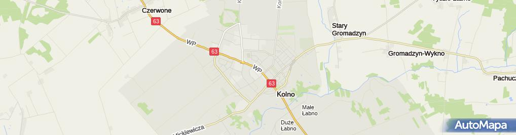 Zdjęcie satelitarne Sąd Rejonowy