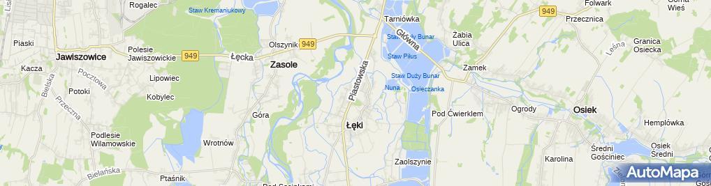 Zdjęcie satelitarne DEKORLAND GRZEGORZ NAGLIK