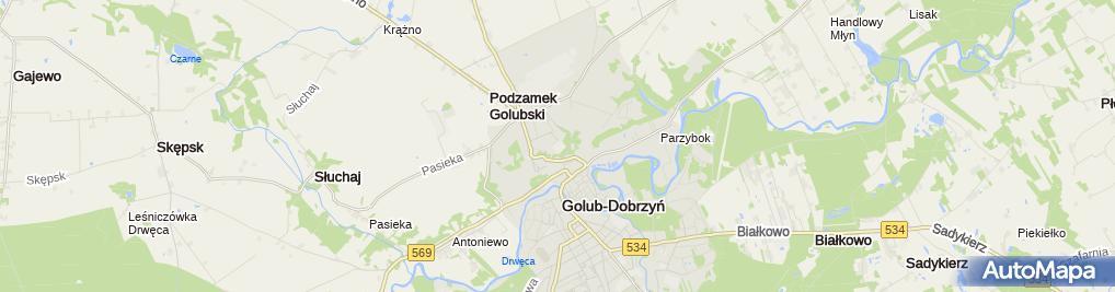Zdjęcie satelitarne Zespół Szkół nr 1 im. Anny Wazówny