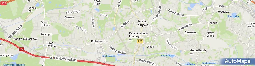 Zdjęcie satelitarne Zespół Szkół Specjalnych nr 3 im. św. Łukasza