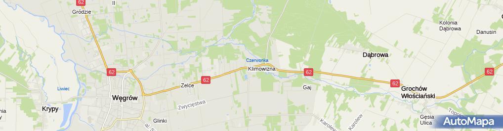 Zdjęcie satelitarne Szpital Powiatowy SP ZOZ