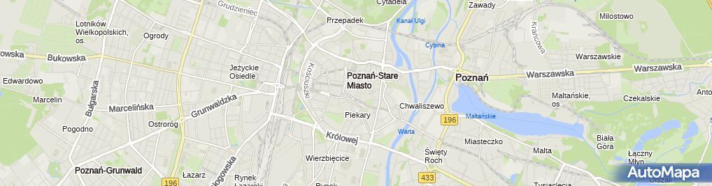 Zdjęcie satelitarne Wielospecjalistyczny Szpital Miejski im. J. Strusia