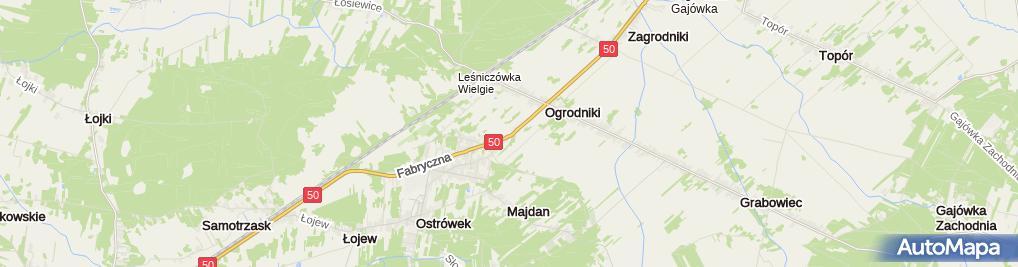 Zdjęcie satelitarne Auto Szrot Darek