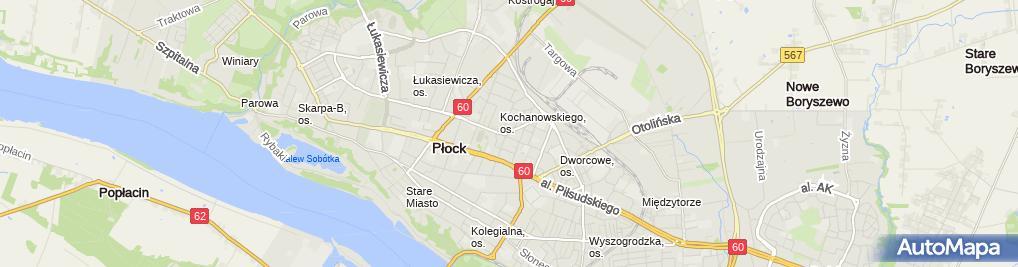 Zdjęcie satelitarne Biuro Ubezpeczeniowo-Kredytowe