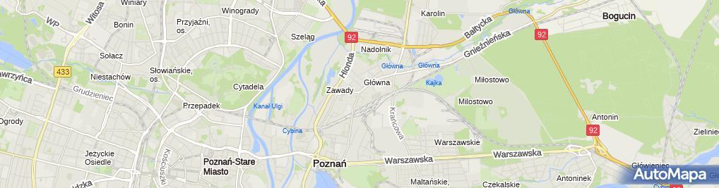 Zdjęcie satelitarne Składy budowlane VOX