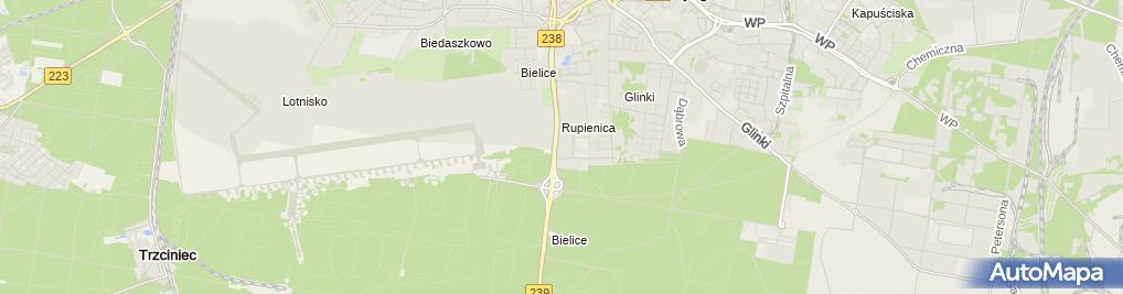 Zdjęcie satelitarne Auto-France