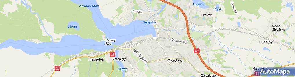 Zdjęcie satelitarne Wędkarski