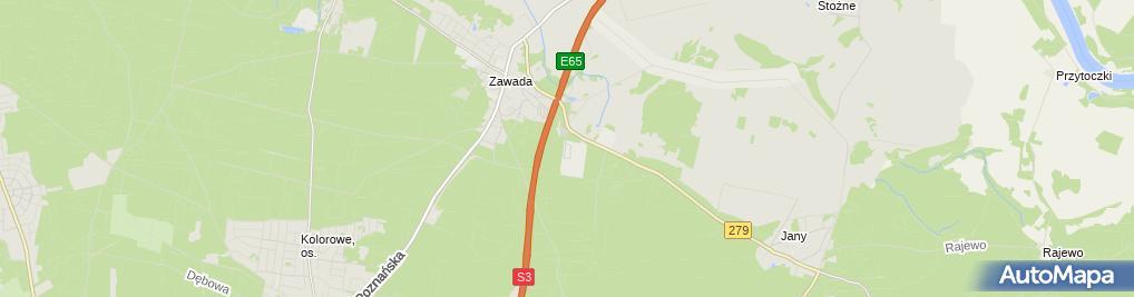 Zdjęcie satelitarne Zakład Wodociągów i Kanalizacji