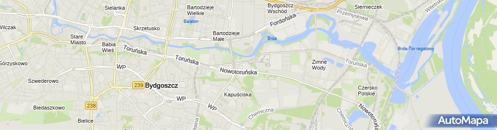 Zdjęcie satelitarne SOWKAM OPONY S.A.