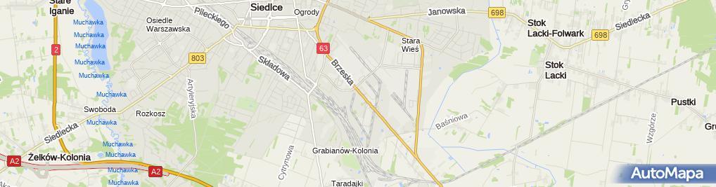 Zdjęcie satelitarne Odmet