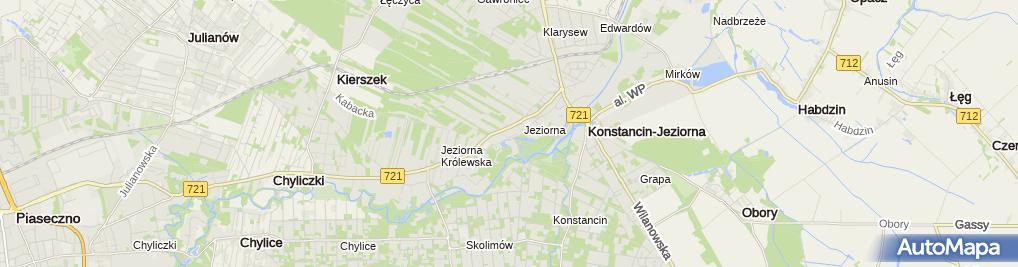 Zdjęcie satelitarne PGE ZEW-T