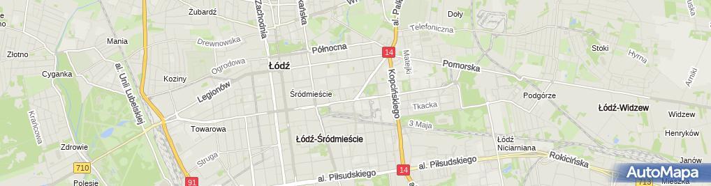 Zdjęcie satelitarne Gazownia Tower Lodz